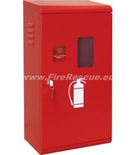 FIRE EXTINGUISHER SMART CABINET 4-6 KG/L WITH KEY