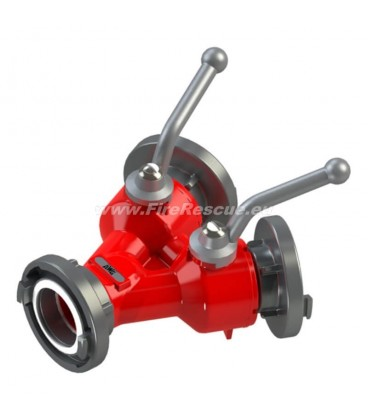 DOUBLE WATER DISTRIBUTER C/DD WITH BALL VALVES
