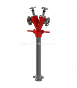 STANDPIPE FOR UNDERGROUND HYDRANT WITH TWO OUTLETS - DN50