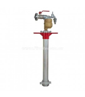 STANDPIPE FOR UNDERGROUND HYDRANT WITH WATER METER AND WATER TAP - DN80